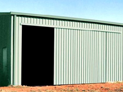 steel building finishing options